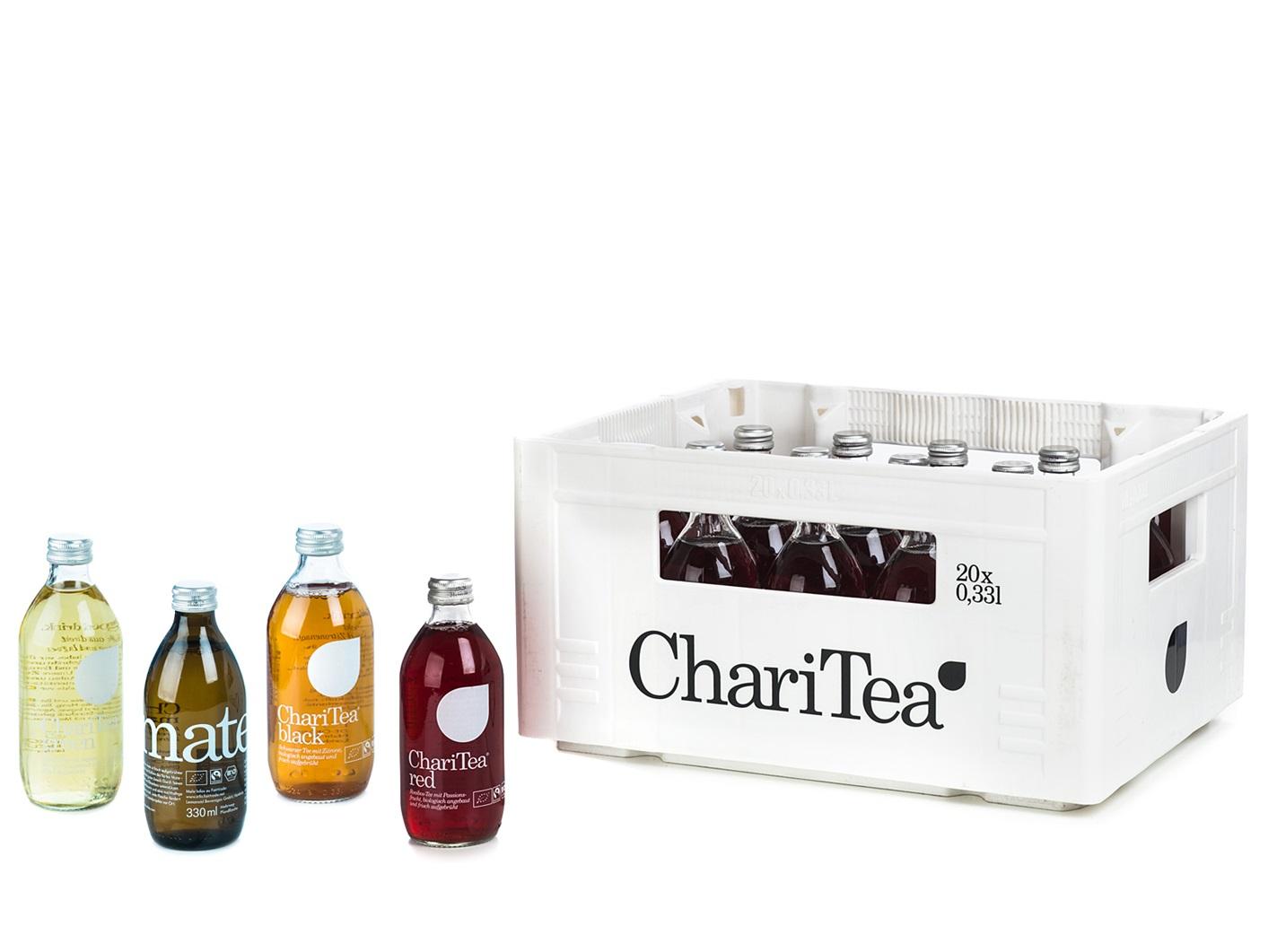 ChariTea online bestellen   getraenkedienst.com