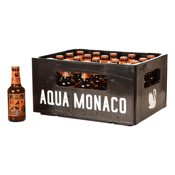 Aqua Monaco Organic Ginger Beer 20 x 0,23l