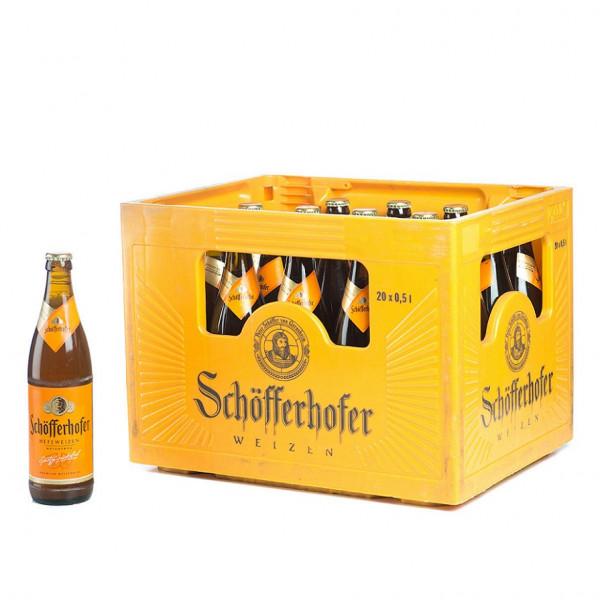 Schöfferhofer Hefeweizen 20 x 0,5l
