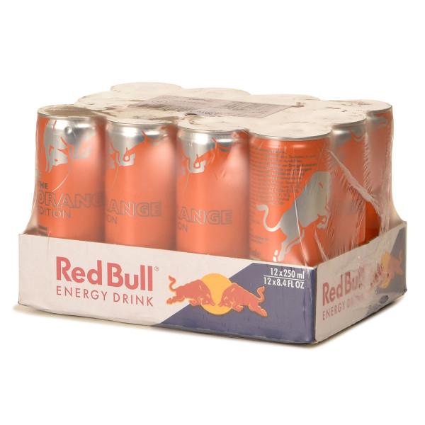 Red Bull Orange Edition 12 x 0,25l Dose