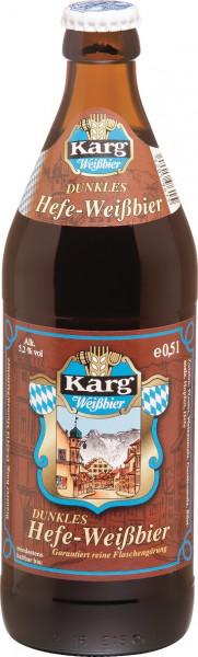 Karg Dunkles Hefe-Weißbier 20 x 0,5l