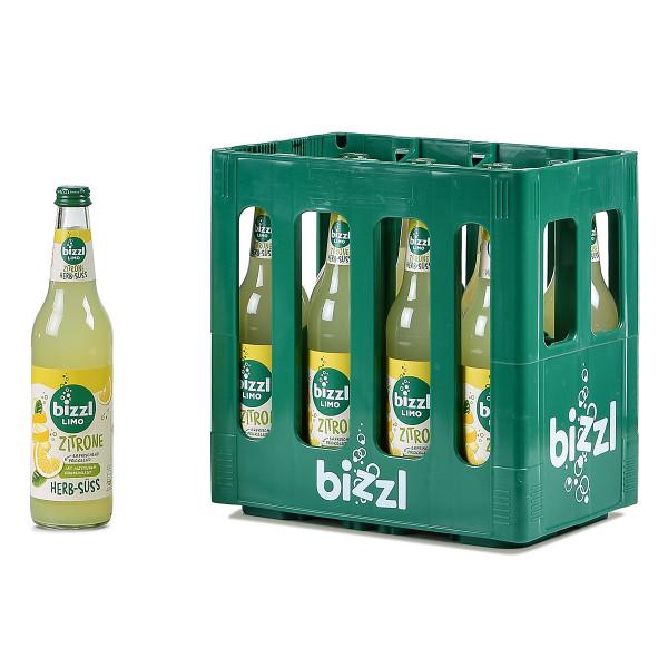 Bizzl Herb-Süss Zitrone 10 x 0,5l