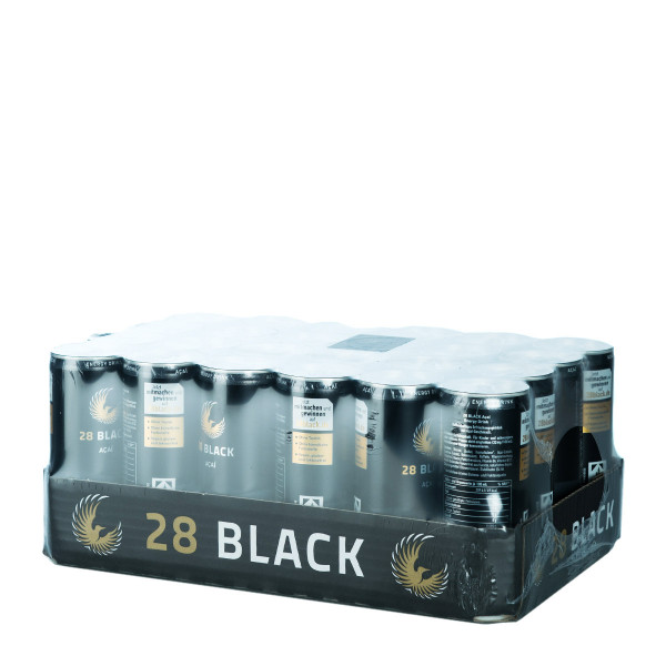28 Black Açaí Schwarze Dose 24 x 0,25l