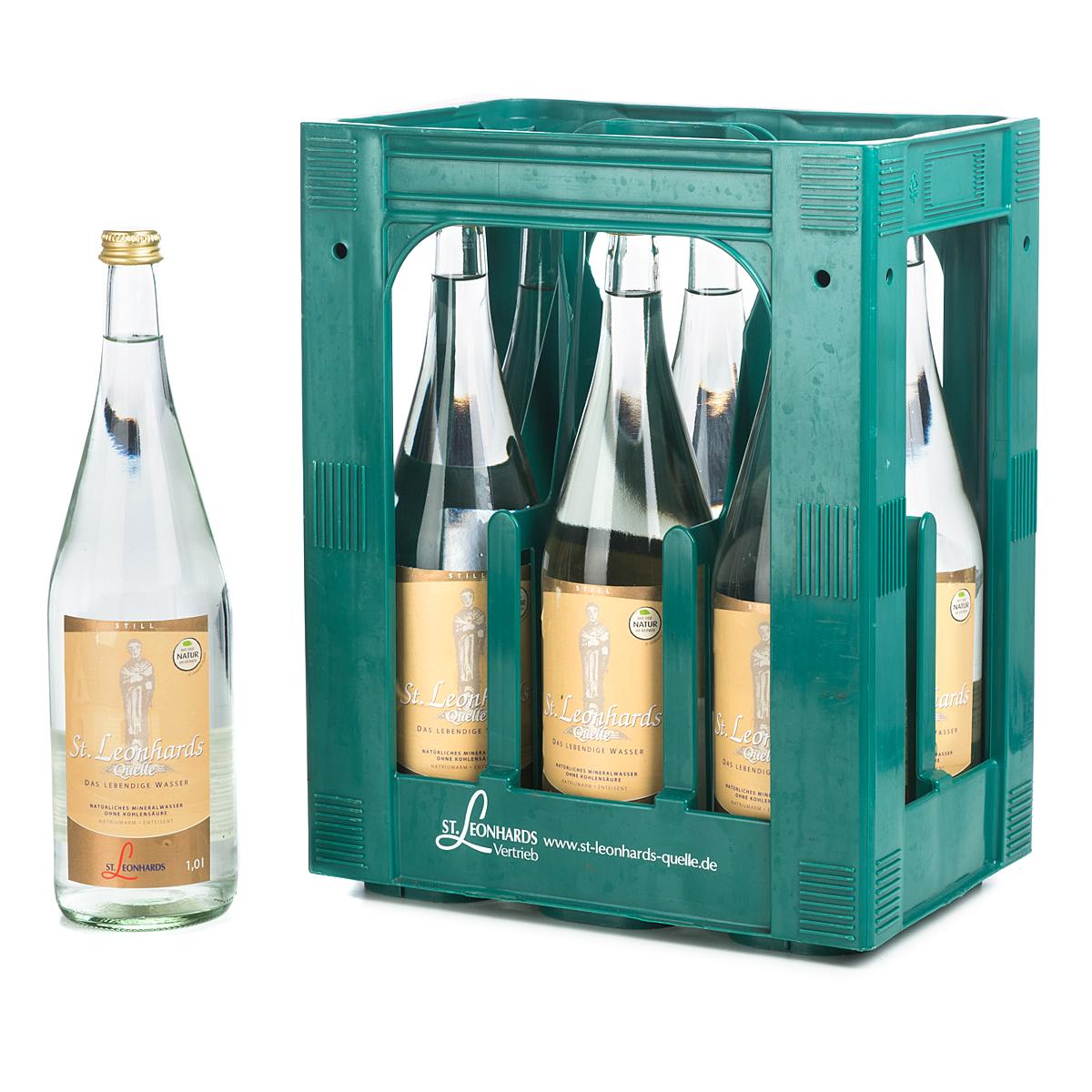 St. Leonhardsquelle Mineralwasser online bestellen | getraenkedienst.com