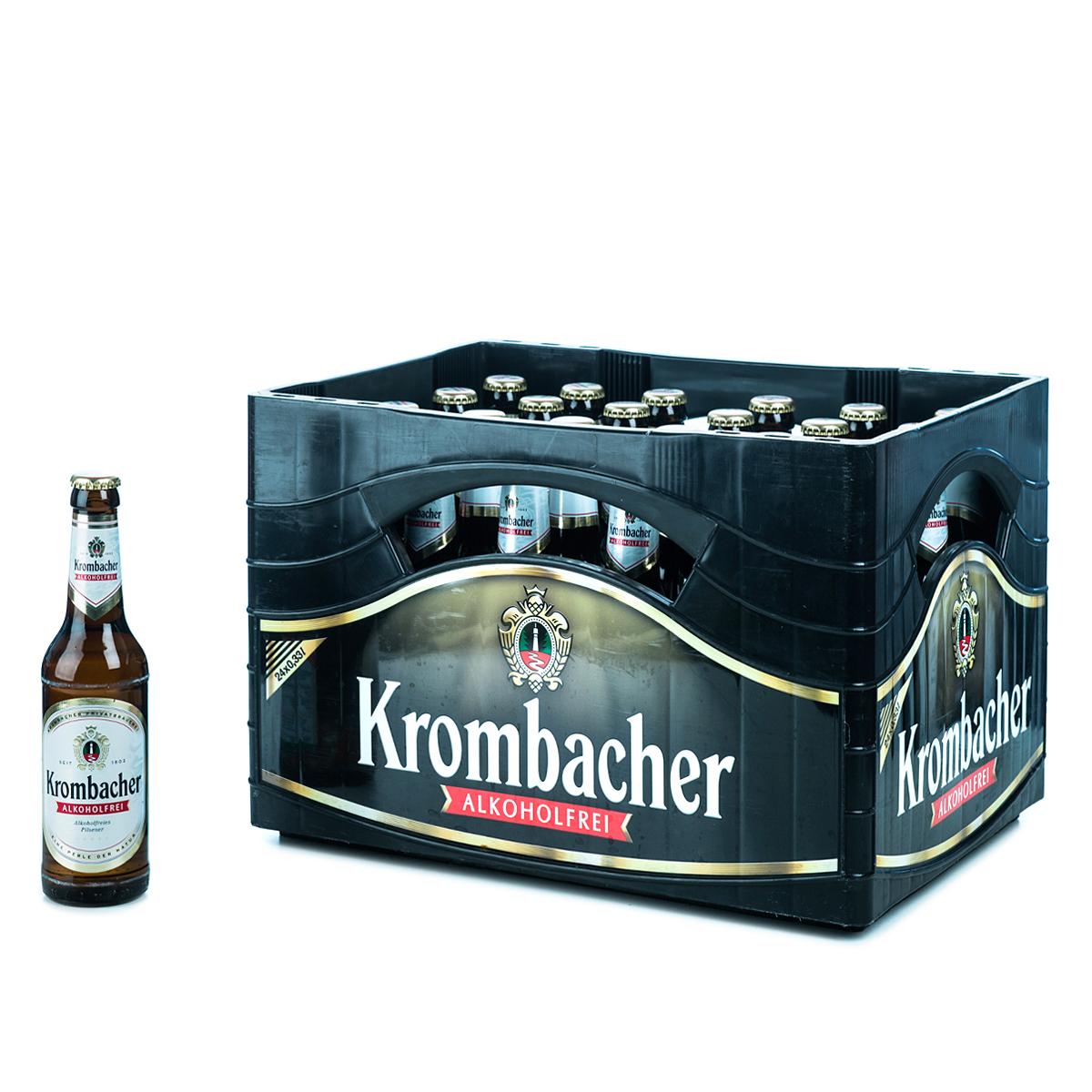 krombacher alkoholfrei 24 x 0 33l online bestellen. Black Bedroom Furniture Sets. Home Design Ideas