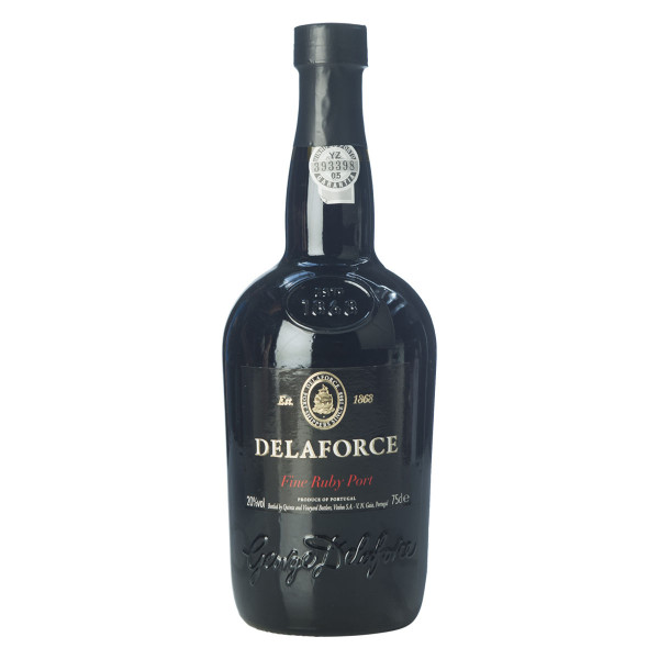 Delaforce Full Ruby Port (rot) 0,75l
