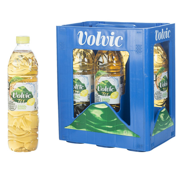 Volvic Eistee Zitrone 6 x 1,5l