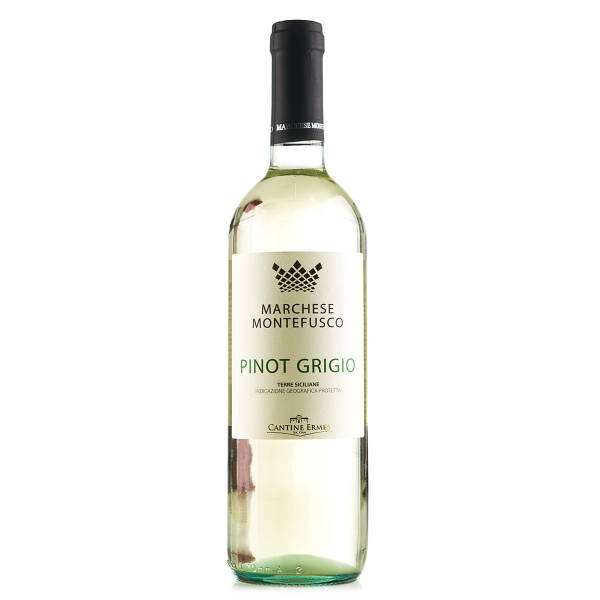 Marchese Montefusco Pinot Grigio in der 0,75 l EInuelflasche