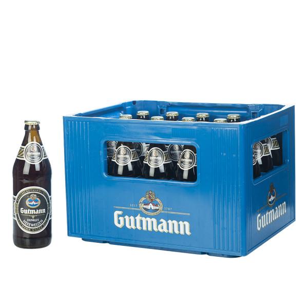 Gutmann Hefeweizen Dunkel 20 x 0,5l