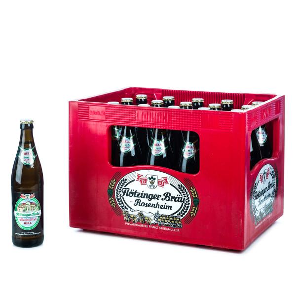 Flötzinger Hell Alkoholfrei 20 x 0,5l