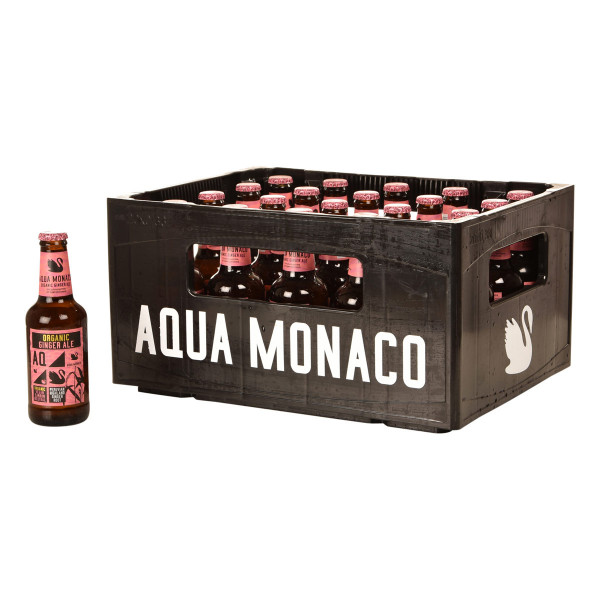 Aqua Monaco Organic Ginger Ale 20 x 0,23l