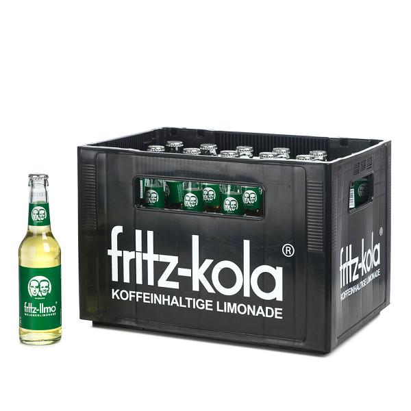 Fritz-Kola Melonenlimonade in der 0,33l Glasflasche