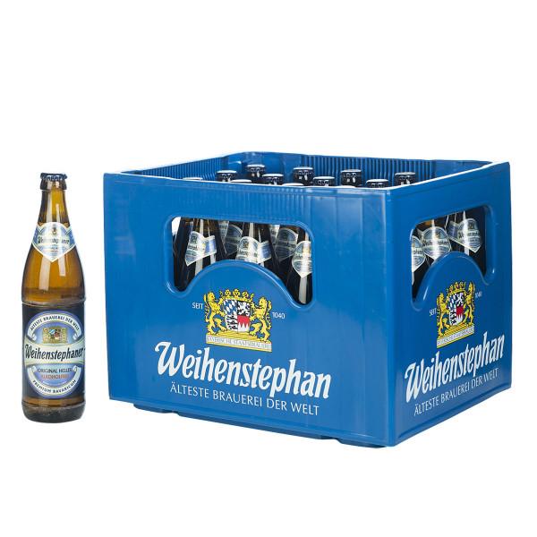 Weihenstephan Hell alkoholfrei 20 x 0,5l
