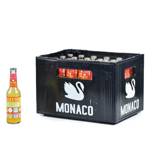 Aqua Monaco Orange-Maracuja 24 x 0,33l