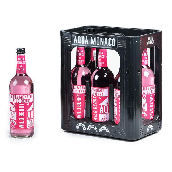 Aqua Monaco Wild Berry 6 x 0,75l