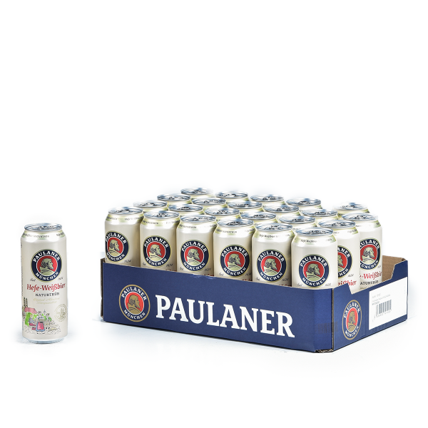Paulaner Weißbier Hell DOSE 24 x 0,5l
