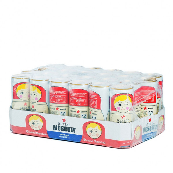 Herbal Moscow Ginger 24 x 0,25l