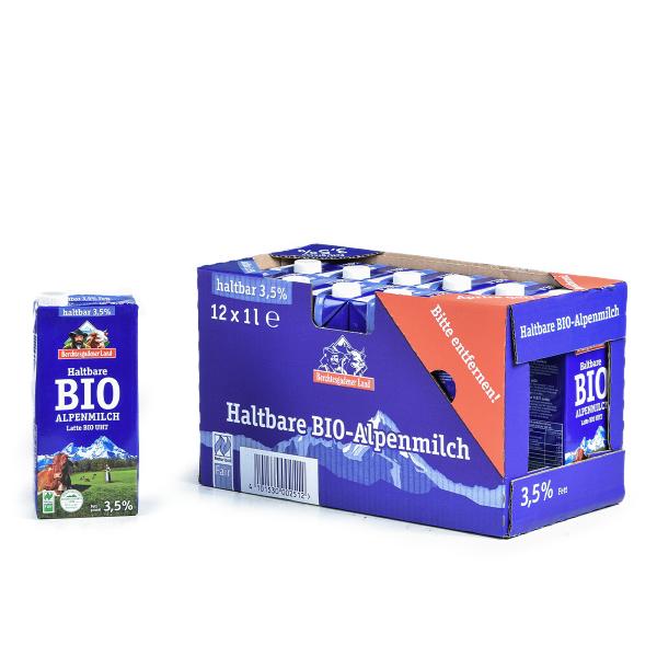 Alpenmilch H-Milch 3,5% 12 x 1,0l