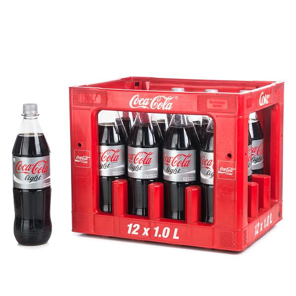 Coca Cola light in der 1l PET Flasche