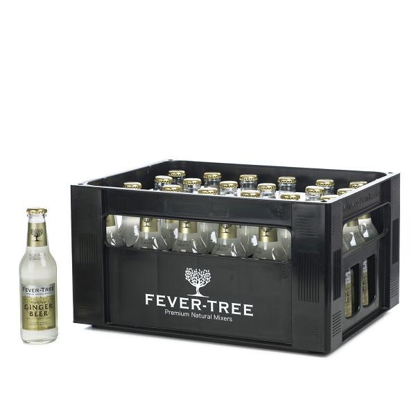 FeverTree Ginger Beer in der 0,2l Glasflasche