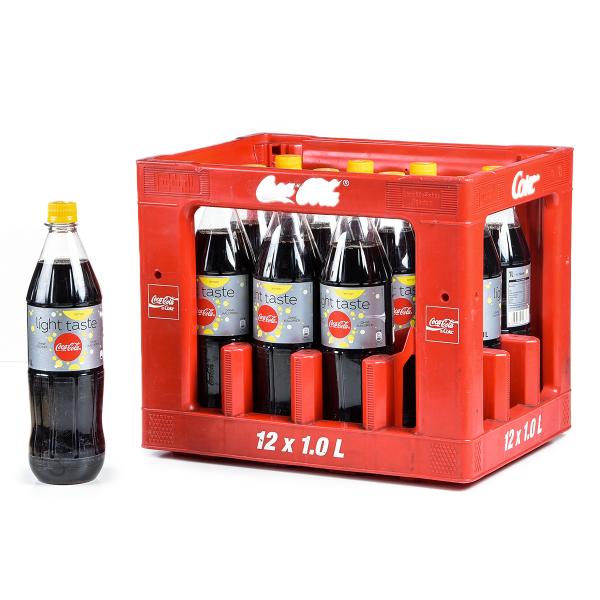 Coca Cola light Lemon C 12 x 1l