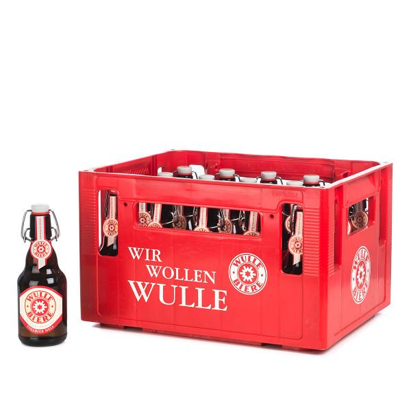 Wulle Vollbier Hell im 24 x 0,33l Kasten