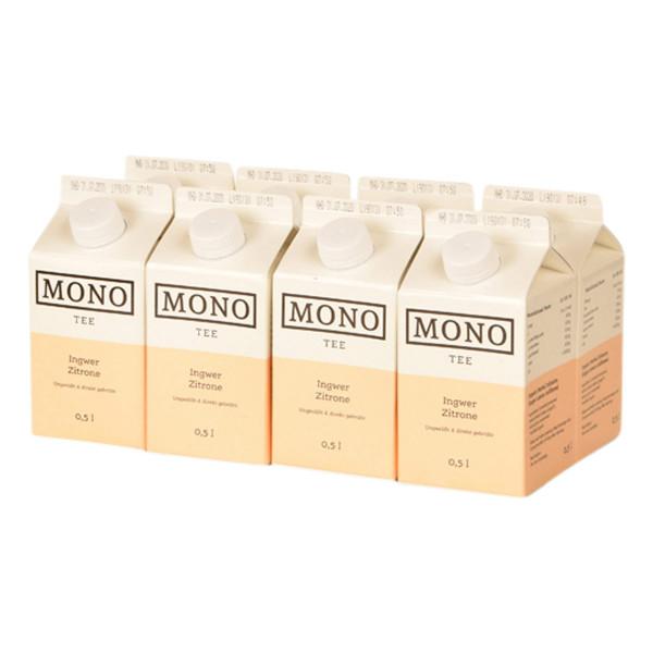 Mono Tee Ingwer Zitrone 8 x 0,5l