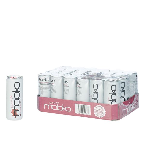 Moloko Cranberry 24 x 0,2l5l