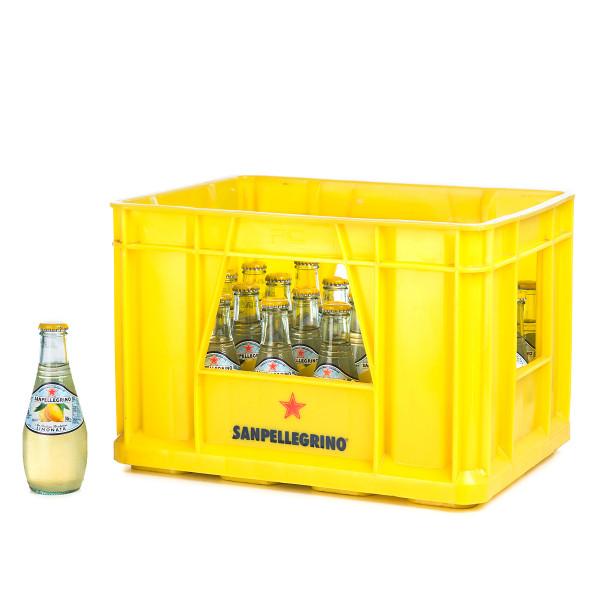 San Pellegrino Limonata in der 0,25l Glasflasche