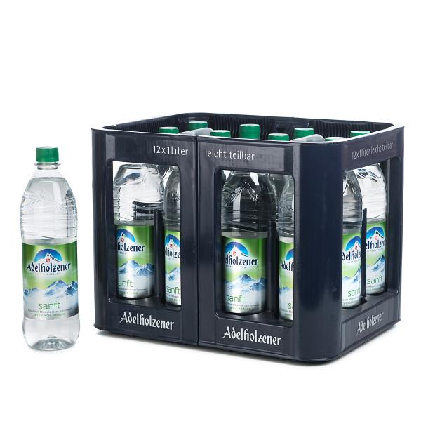 Adelholzener Sanft 12 x 1l Glas