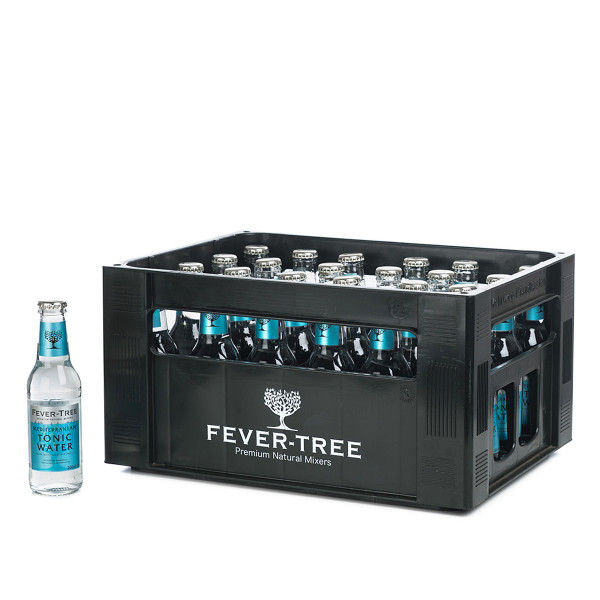 FeverTree Mediterranean Tonic Water in der 0,2l Glasflasche