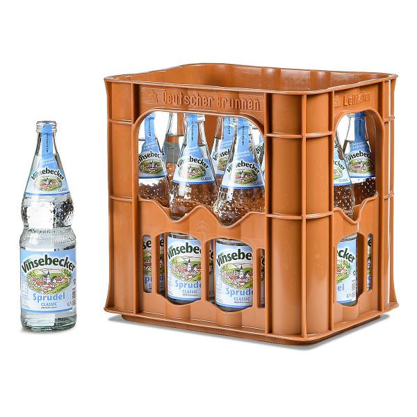 Vinsebecker Sprudel 12 x 0,7l Glas