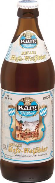 Karg Helles Hefe-Weissbier 20 x 0,5l