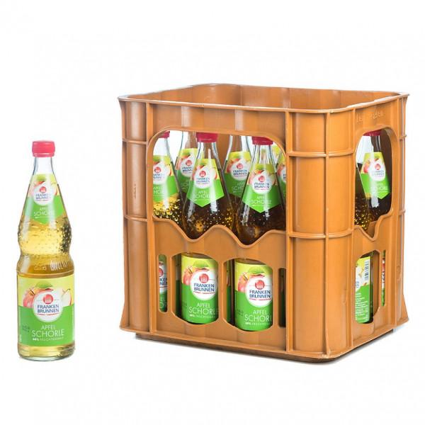Franken Brunnen Apfelschorle 12 x 0,7l