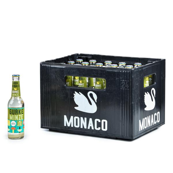 Aqua Monaco Gurke-Minze 24 x 0,33l
