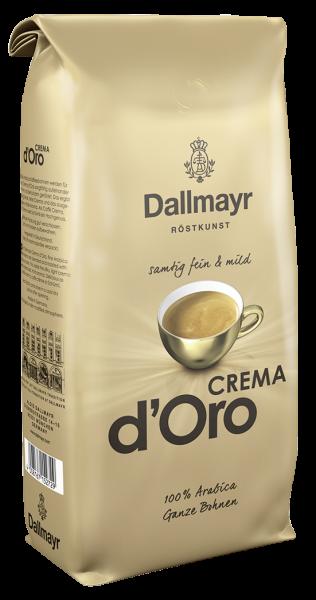 Dallmayr Kaffee Crema d'Oro - 1,00 kg Beutel