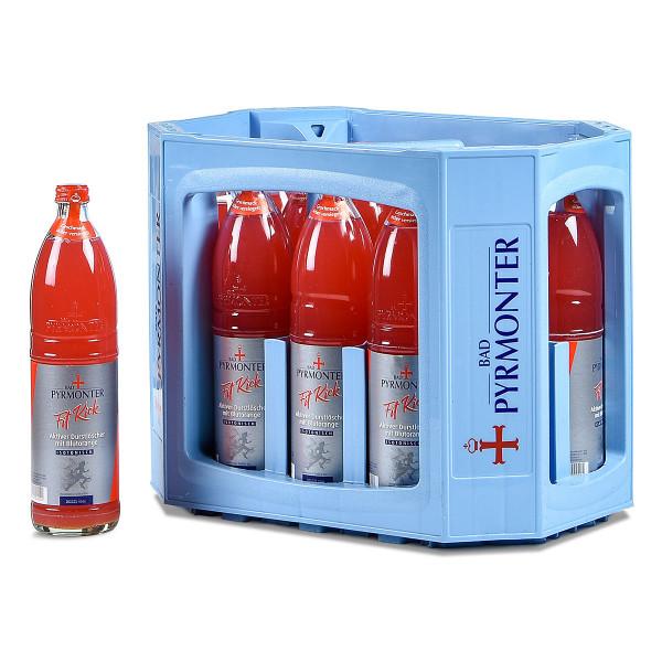 Pyrmonter Fit Kick Blutorange 12 x 0,75l Glas