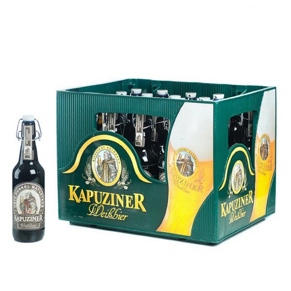 Kapuziner Schwarze 20 x 0,5l
