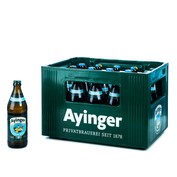 Ayinger Lager Hell 20 x 0,5l