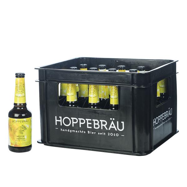Hoppebräu Wuide Hehna Session IPA 20 x 0,33l