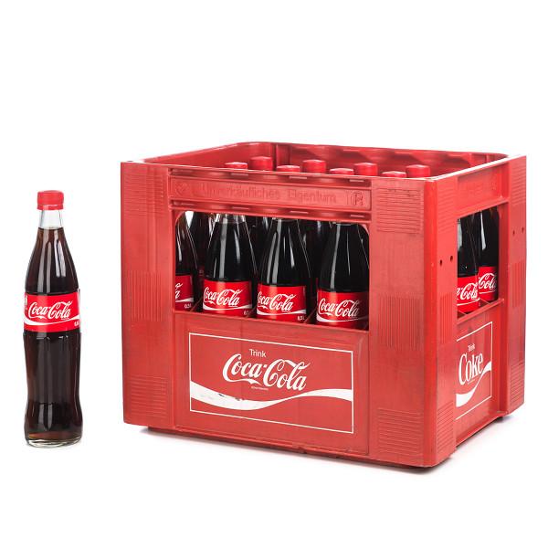 Coca-Cola 20 x 0,5l Glas