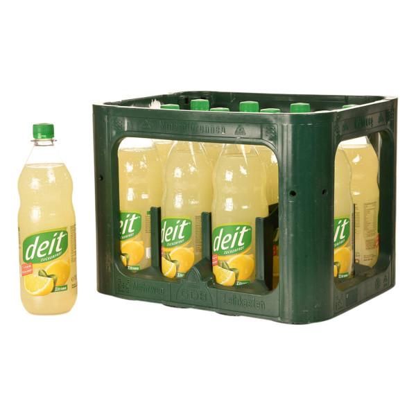 Deit Zuckerfrei Zitrone 12 x 1l