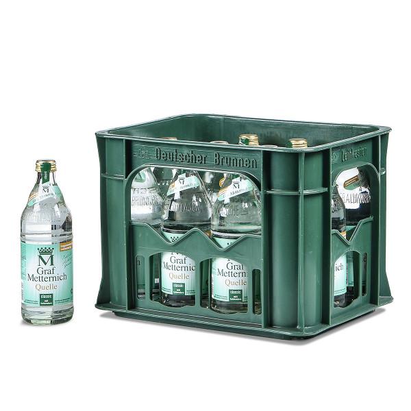 Graf Metternich Brunnen Classic 12 x 0,5l Glas