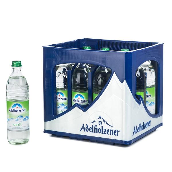 Adelholzener Sanft 12 x 0,5l Glas