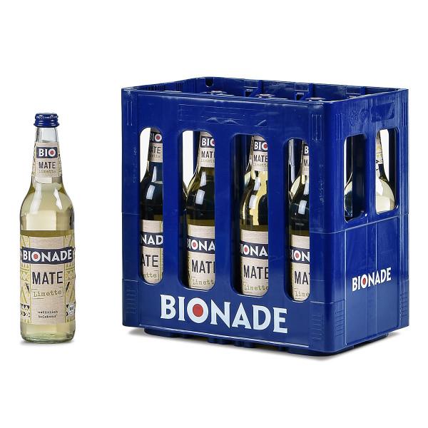 Bionade Mate Limette 10 x 0,5l