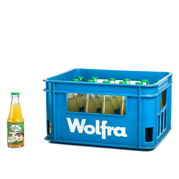Wolfra Maracuja Premium-Frucht 30 x 0,2l