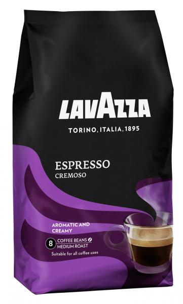 Lavazza Kaffeebohnen Espresso Cremoso - 1,00 kg Beutel