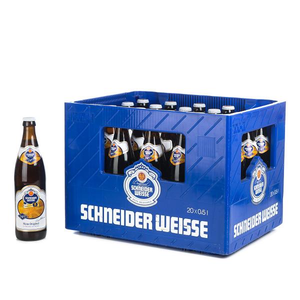 Schneider Weisse Original in der 0,5l Glasflasche