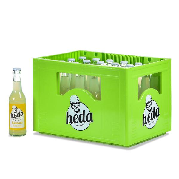 Heda Limonade Zitrone 24 x 0,33l
