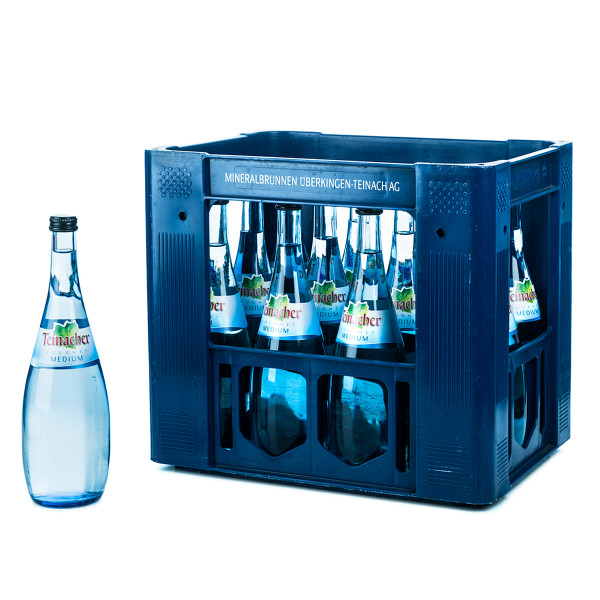 Teinacher Gourmet Medium 12 x 0,75l Glas